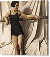 Young Bather. 1st Half 20th C. Artists Canvas Print