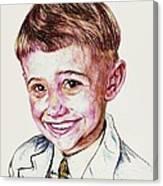 Young Boy Canvas Print