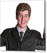Young Business Man  Canvas Print