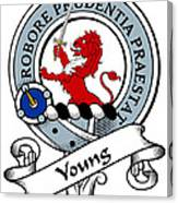 Young Clan Badge Canvas Print
