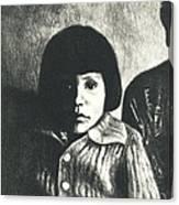 Young Girl Original Canvas Print