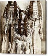 Young Kiowa Belles 1898 Canvas Print
