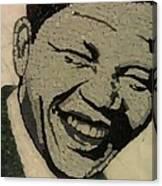 Young Nelson Mandela Canvas Print