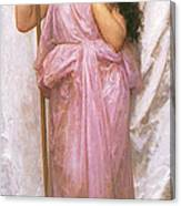 Young Priestess Canvas Print
