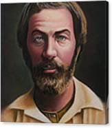 Young Walt Whitman Canvas Print