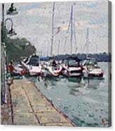 Youngstown Yachts Canvas Print