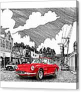 Your Ferrari In Tularosa N M  Canvas Print