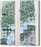Your Garden Wall Canvas Print