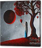 Your Love Lives On By Shawna Erback Canvas Print
