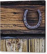 Your Lucky Horseshoe Canvas Print