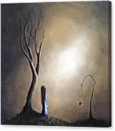 Your Memory Lives On In Me By Shawna Erback Canvas Print