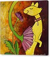 Your Regular Garden Variety Kinda Cat Canvas Print