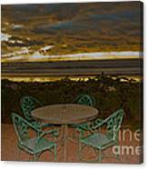 Your Table Is Ready Canvas Print