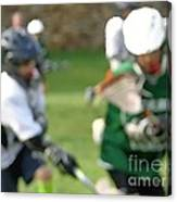 Youth Lacrosse Canvas Print