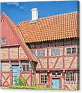 Ystad Old Mayors House Canvas Print