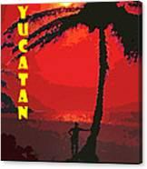 Yucatan Caribbean Canvas Print