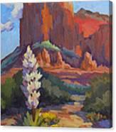 Yucca At Sedona Canvas Print