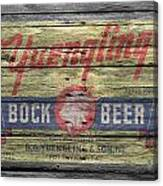 Yuengling Bock Beer Canvas Print