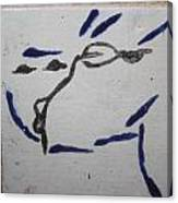 Yuko - Tile Canvas Print