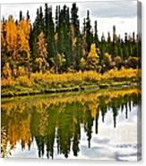 Yukon Autumn Canvas Print
