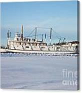 Yukon Gold Rush Sternwheeler Ss Klondike Canvas Print
