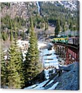 Yukon Railroad 3 Canvas Print