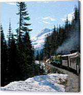 Yukon Railroad Canvas Print
