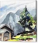 Yuksom Canvas Print