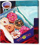Yum Yum Donuts Canvas Print