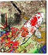 Yusuke Yamada Tribute Canvas Print