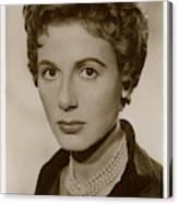 Yvonne Mitchell (1915 - 1979), British Canvas Print