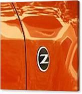 Z Emblem P Canvas Print