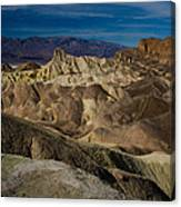 Zabriskie Point 2 Canvas Print
