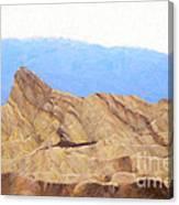 Zabriskie Point Canvas Print