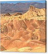 Zabriskie Point Medium Panorama Canvas Print