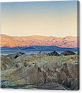 Zabriskie Point Panorana Canvas Print
