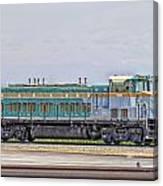 Foster Farms Locomotive Canvas Print
