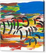 Zafari Canvas Print