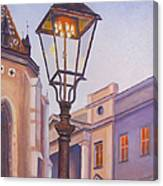 Zagreb Gaslight - Croatia Canvas Print