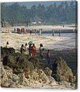 Zanzibar Beach 14 Canvas Print