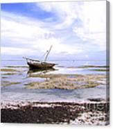 Zanzibar Boat 22 Canvas Print
