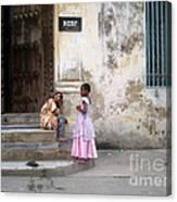 Zanzibar Childrens 05 Canvas Print