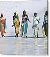 Zanzibar Women 02 Canvas Print