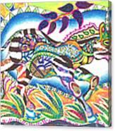 Zuri - Zebra Canvas Print