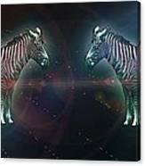 Zebra Nation Canvas Print