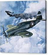 Zemke's Thunder Canvas Print