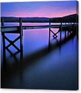 Zen At Lake Waramaug Canvas Print