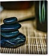 Zen Balance Is Key Canvas Print