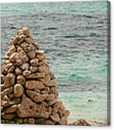 Zen Rocks In Paradise Canvas Print