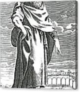 Zeno Of Citium, Ancient Greek Canvas Print